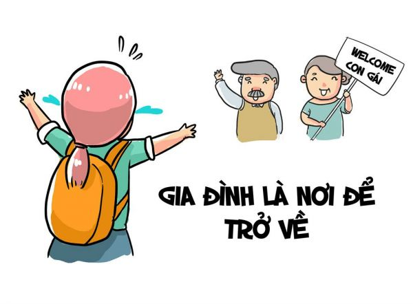 Stt Hay Ve Cuoc Song Gia Dinh 7